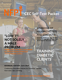 2019 June Self Test Cover