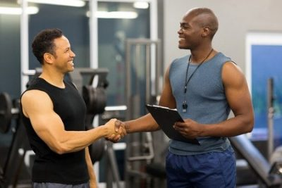 keeping personal trainer clients