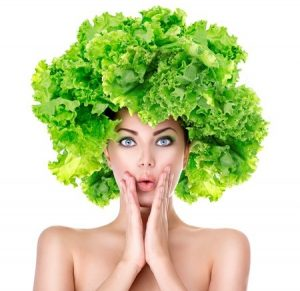lettuce hair vegan