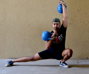 #5 Cossack Squat To Kettlebell Press
