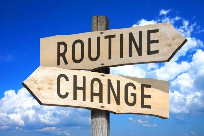 routine change sign