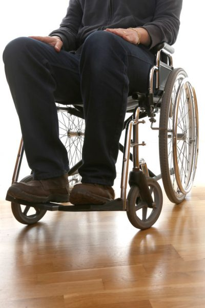 Disabled Guy In A Wheelchair