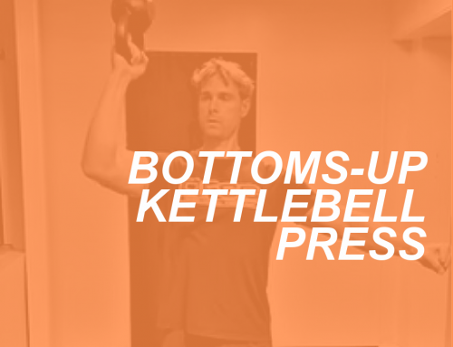 How To Do the Bottoms-Up Kettlebell Shoulder Press