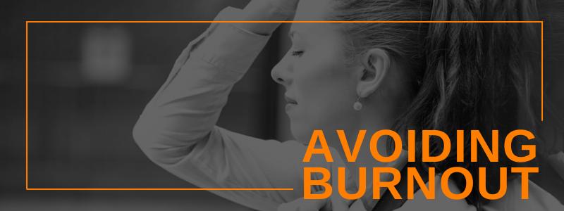 Banner Image Avoiding Burnout