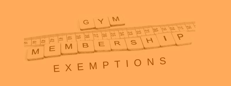 Banner Image Gym Membership Deductions