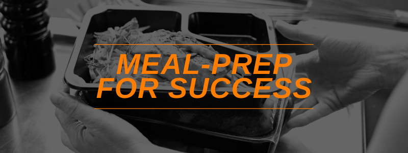 Banner Image Meal Prep For Success