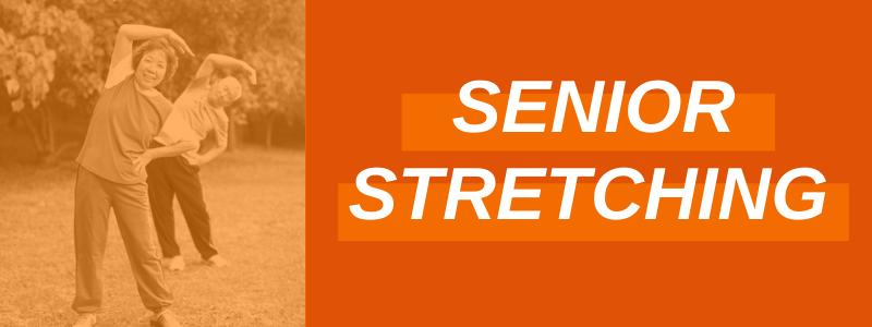 Banner Image Senior Stretching