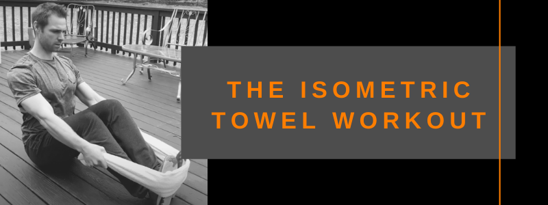 Banner Isometric Towel Workout