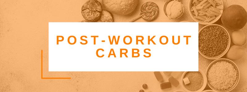 Banner Post Workout Carbs
