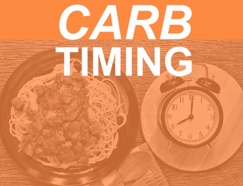 Constructive Use of Carbohydrates: Pre- or Post-Workout?