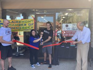 David R SKfit Grand Opening Ribbon Cutting