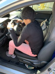 Driving A Car1