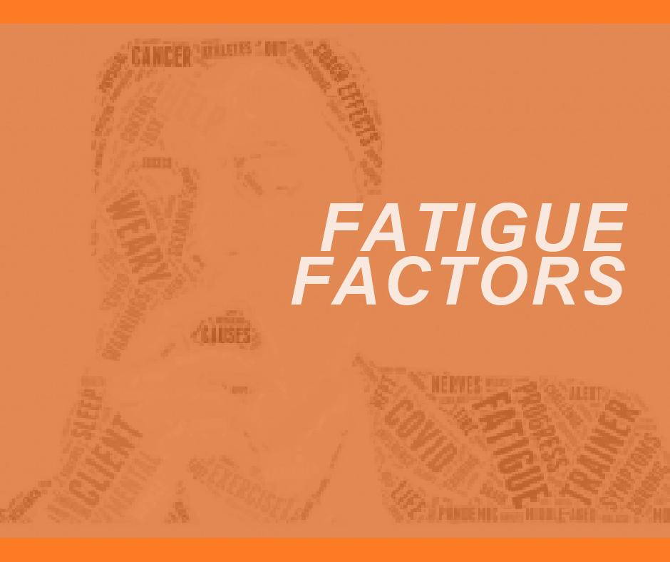 FATIGUE FACTORS
