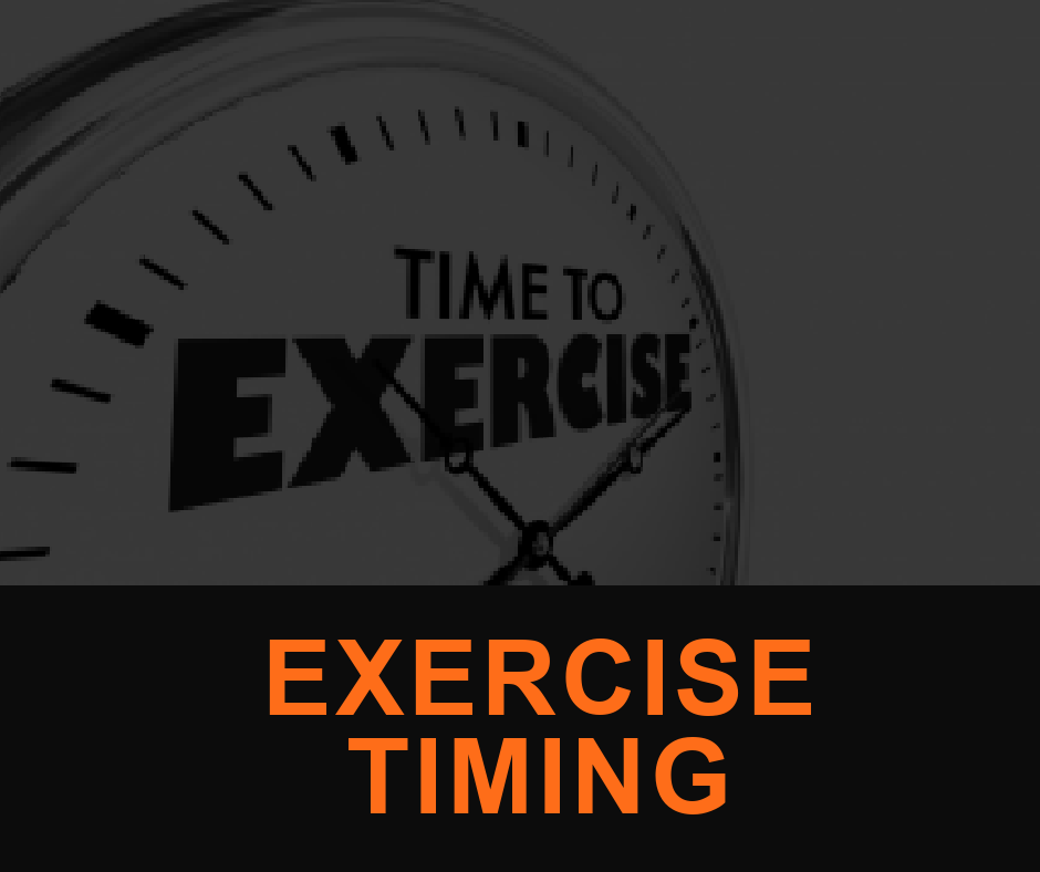 Featured ImagE EXERCISE TIMING