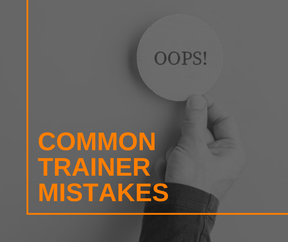 Featured Image Common Trainer Mistakes