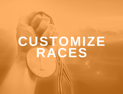 Customize a Race for Your Clients