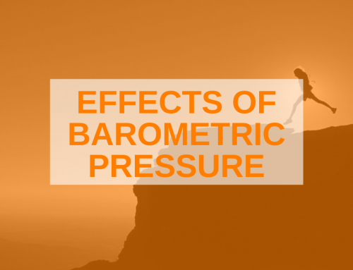 The Air Pressure is On: Running Against the Barometer