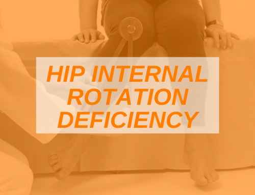 The Importance of Internal Hip Rotation