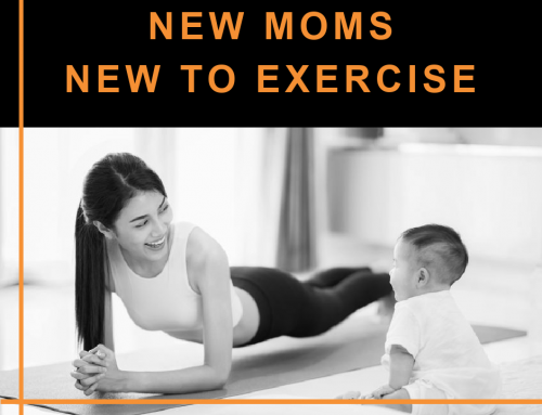 New Moms New To Exercise