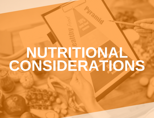 The Way We Eat: Nutritional Considerations