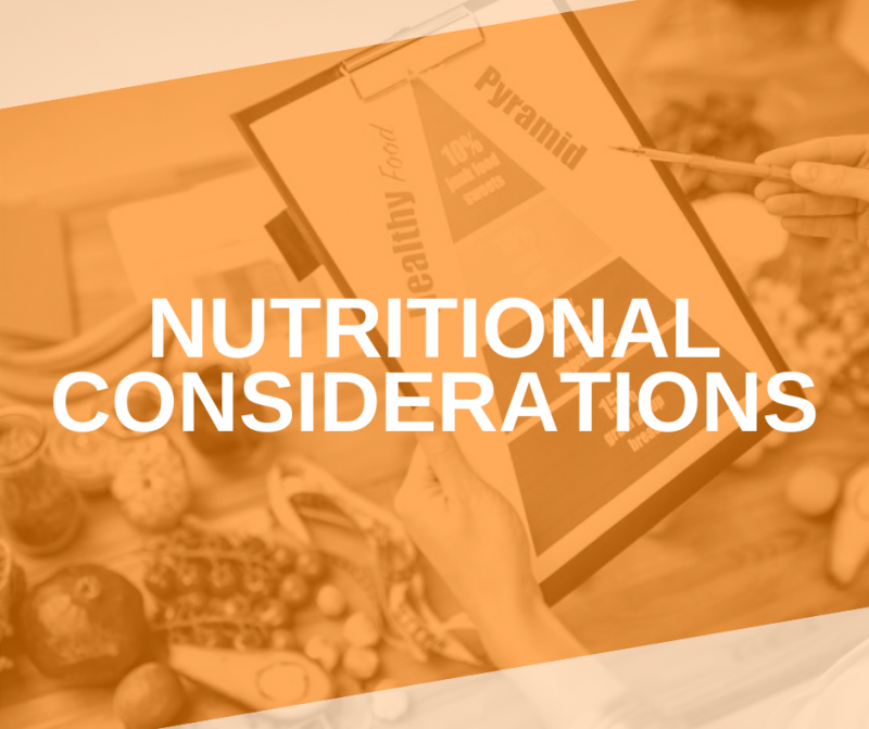 Featured Image Nutritional Considerations