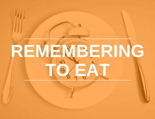 Remembering to Eat: Skipping Meals is Not Ideal