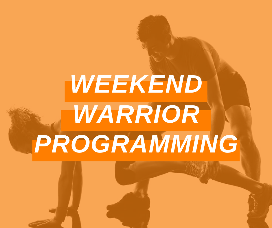 Featured Image Weekend Warrior Programming