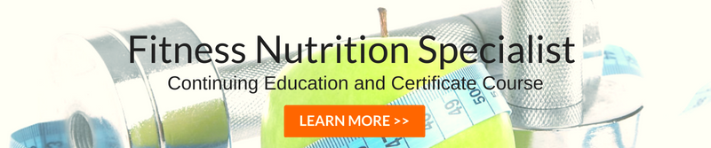 sports fitness nutrition course
