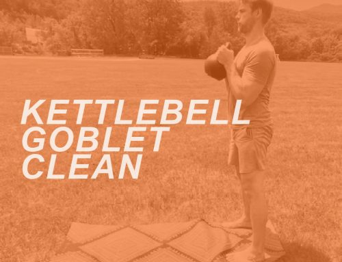 How to do a Kettlebell Goblet Clean