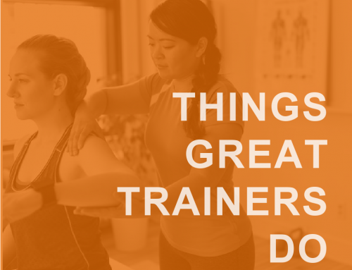 Things Great Personal Trainers Do