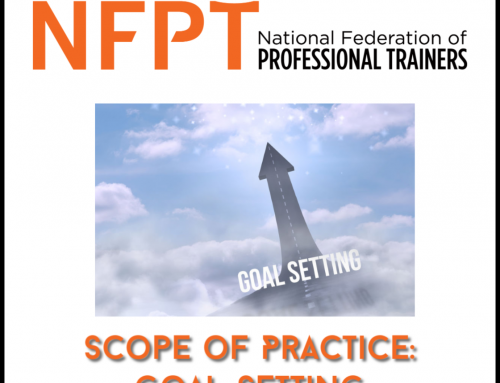 Scope of Practice for the Fitness Professional: Goal Setting