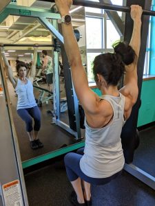 Scap Retraction for Pull ups