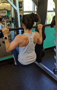 Barbell Pullup