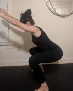 Squat Assessment: Forward lean