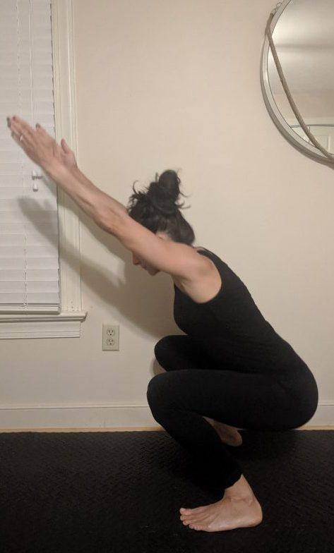 Balanced Squat Side View