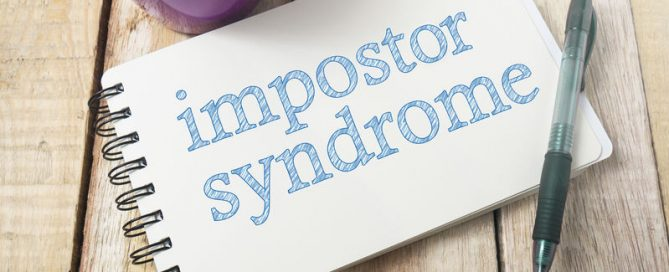 Impostor Syndrome, Mental Health Words Quotes Concept