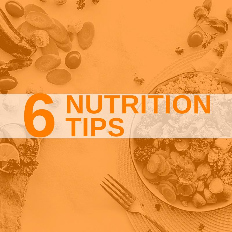 Instagram 6 Nutrition Tips
