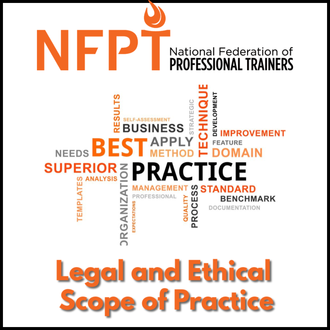 Legal Scope Of Practice