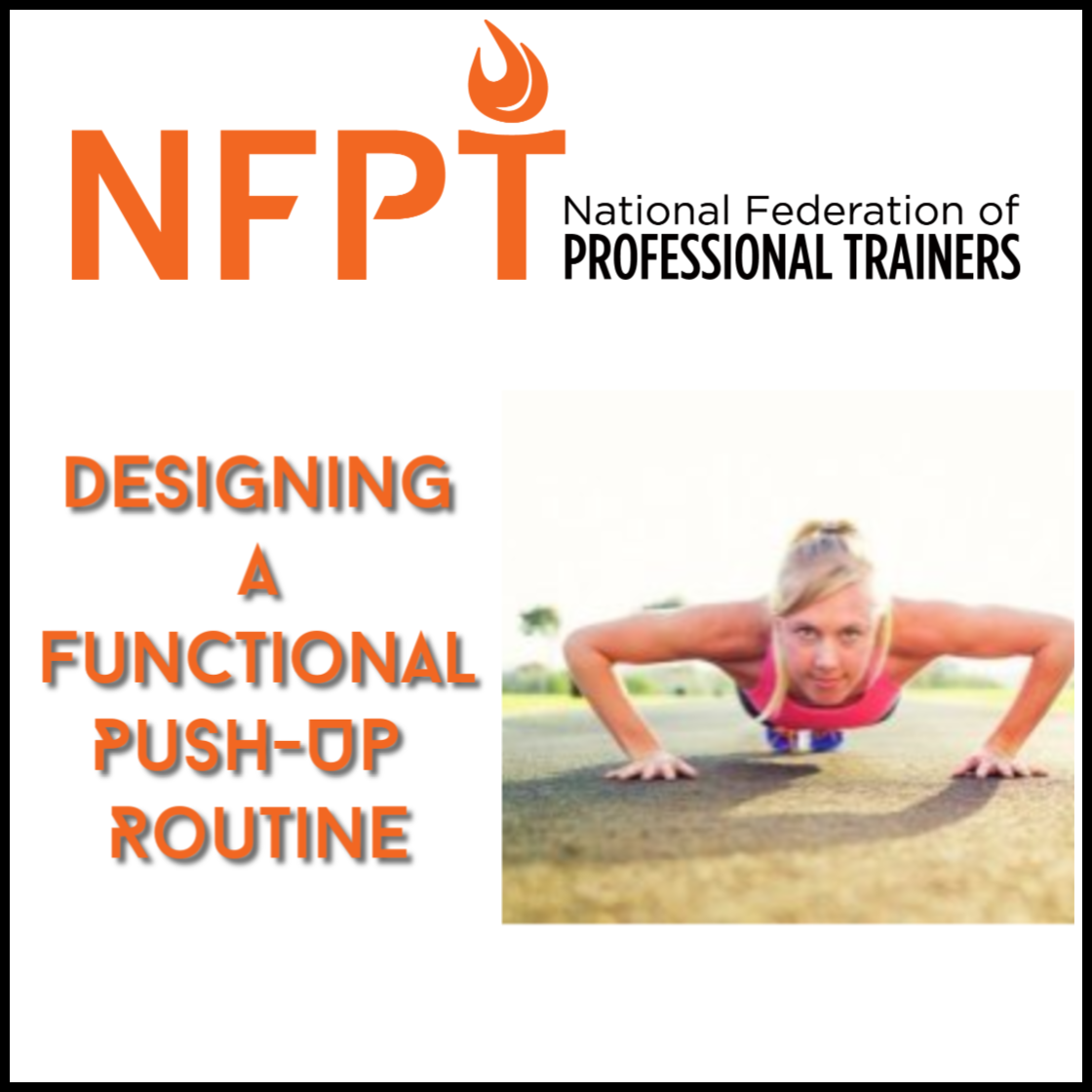 NFPT Push Up Routine