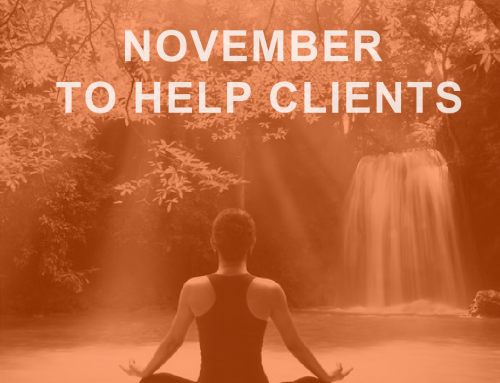 November: The Perfect Month to Help Clients