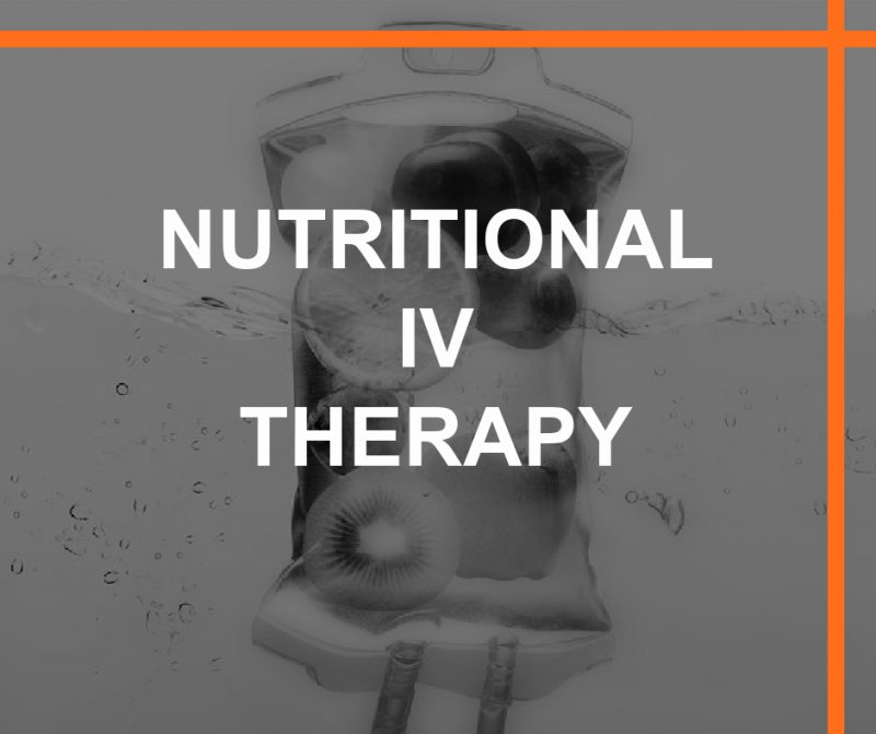 NUTRITIONAL IV THERAPY