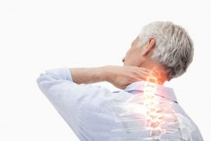 Spine Pain Of Man