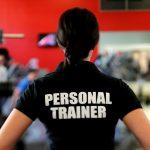personal trainer black shirt