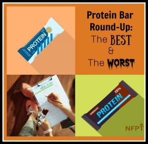 Protein Bar Roundup
