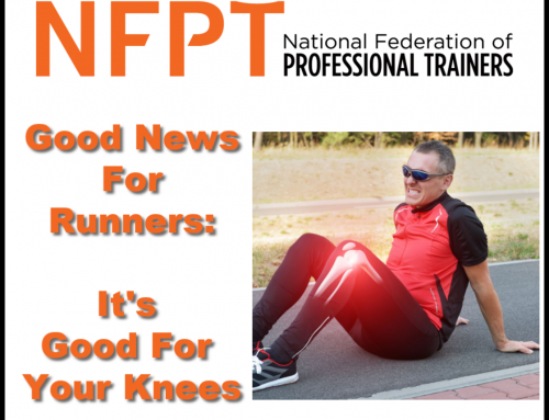 Good News for Runners: It's Good For Your Knees
