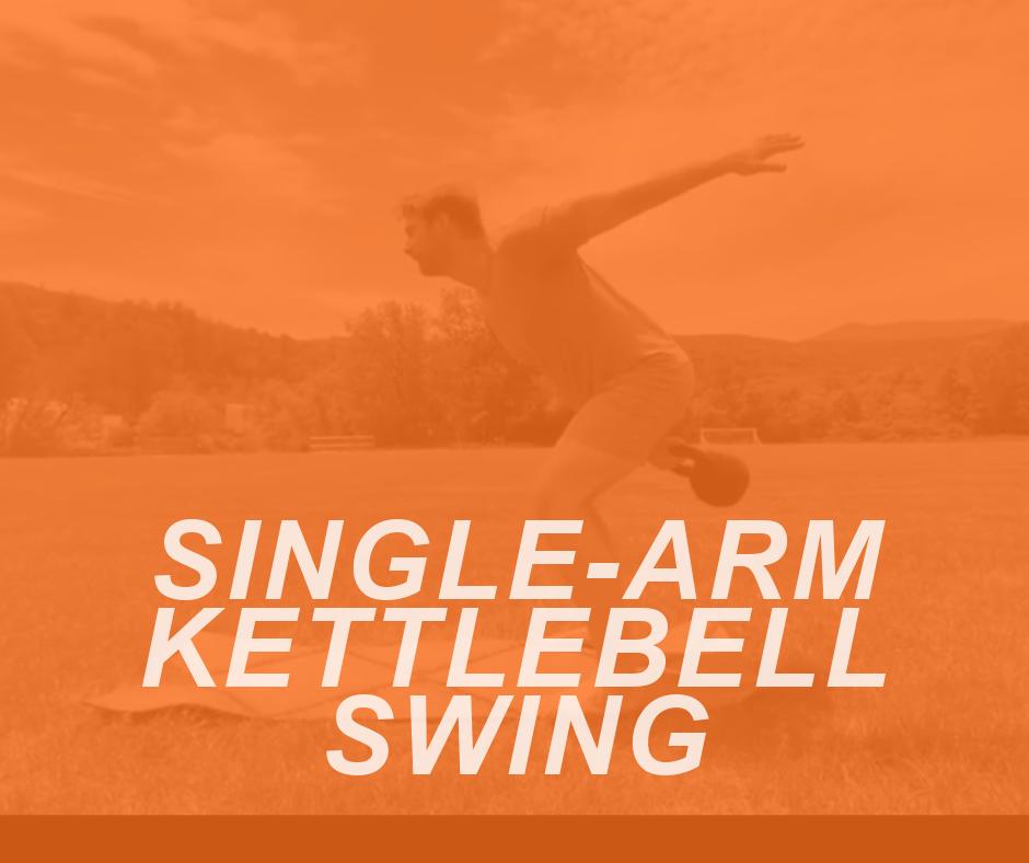 SINGLE ARM KB SWING