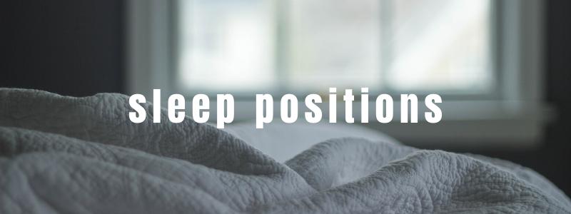 Sleep Positions 800x300
