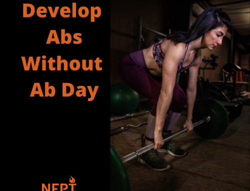 """Develop Abs Without """"Ab Day"""""""