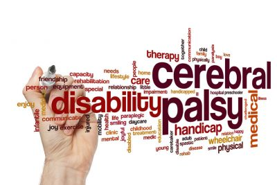 Cerebral Palsy Word Cloud Concept