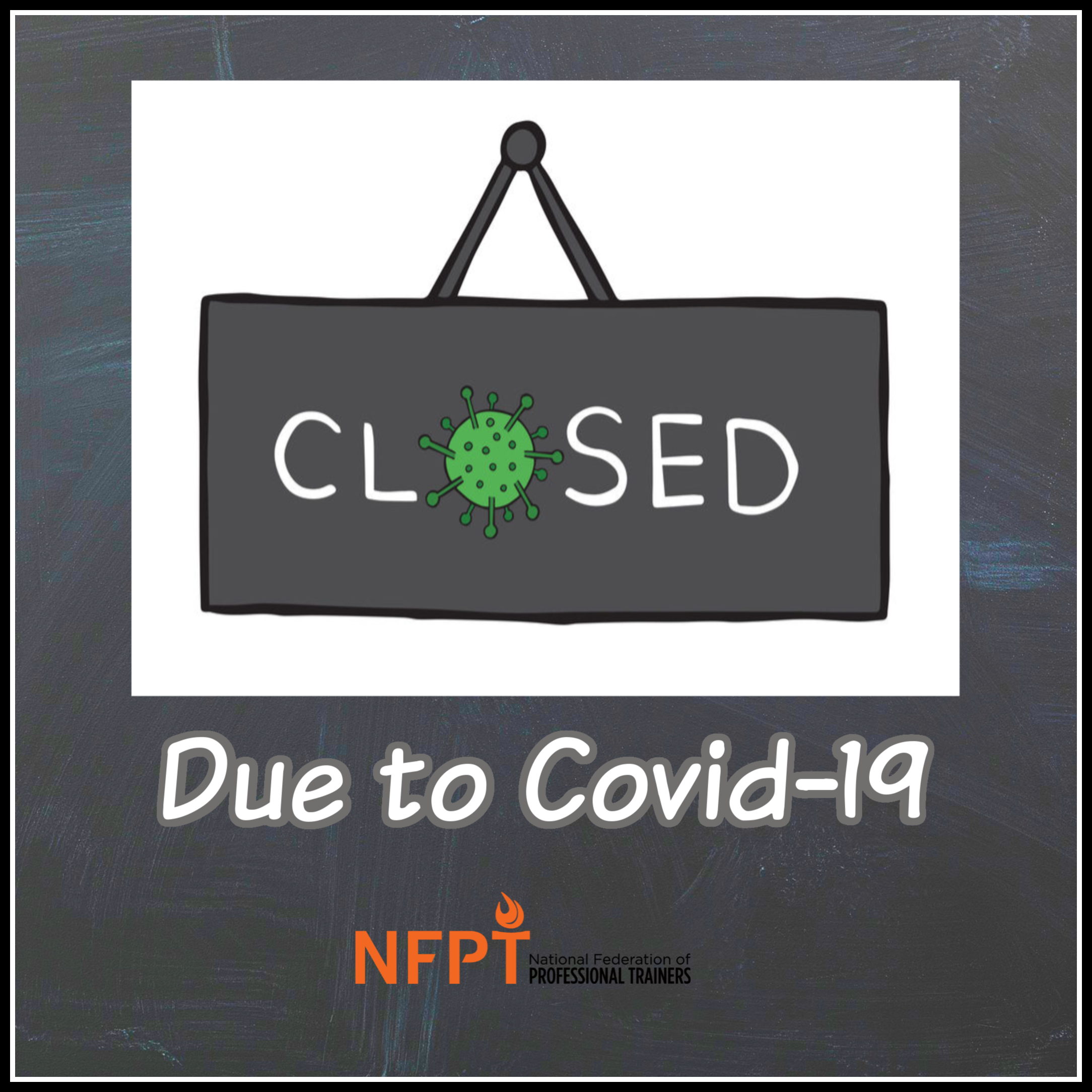Closed To Covid